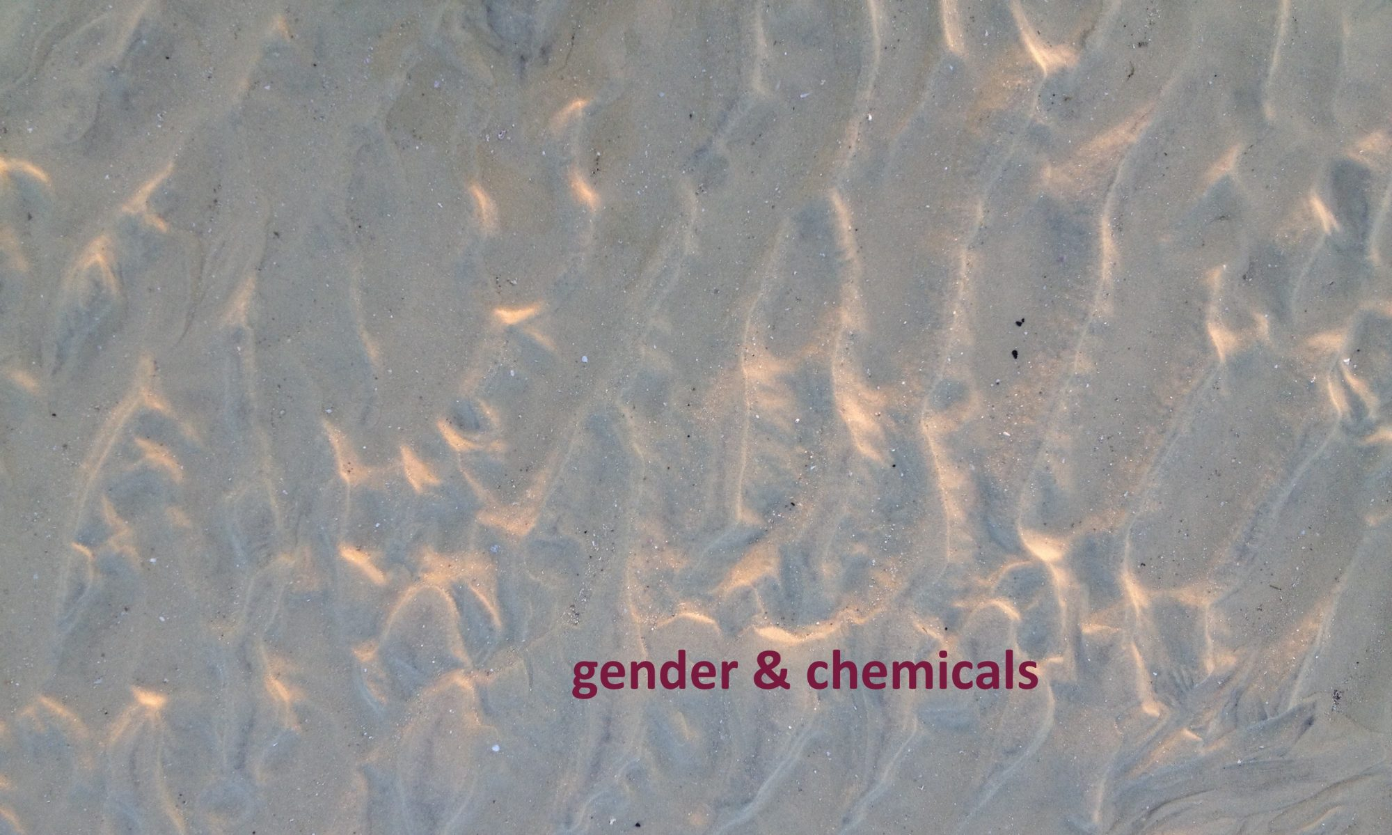 Gender & Chemicals